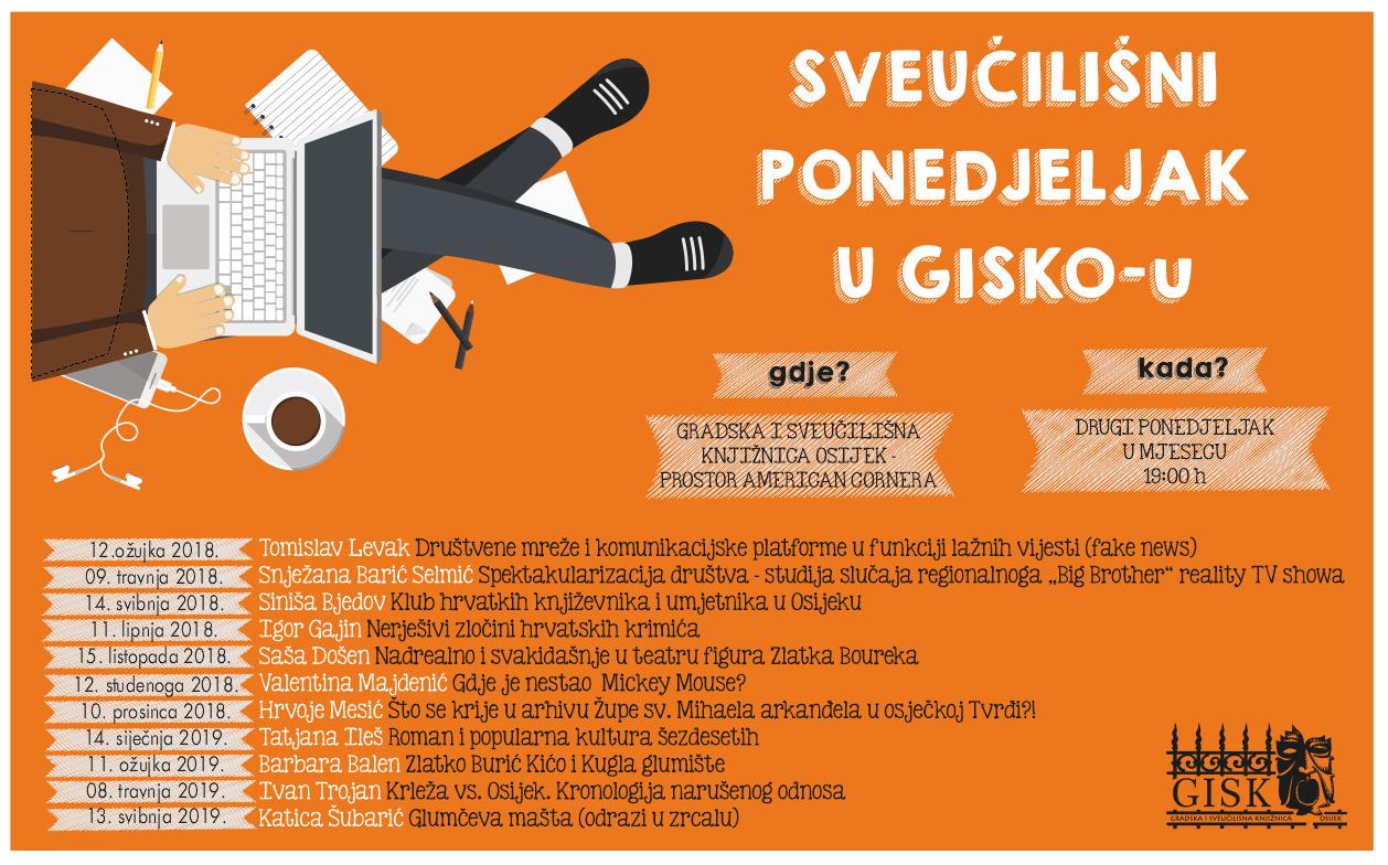 Slikovni rezultat za sveučilišni ponedjeljak u GISKO